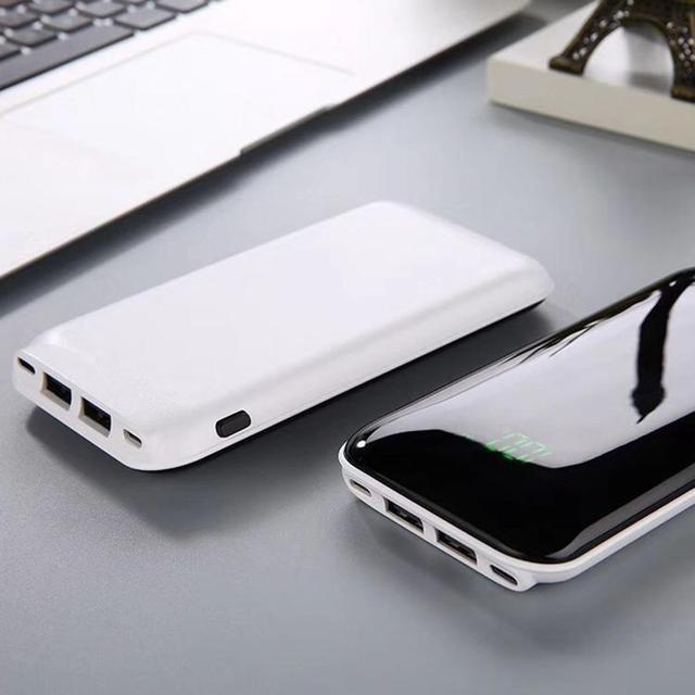 Dual USB Digital Display Power Bank