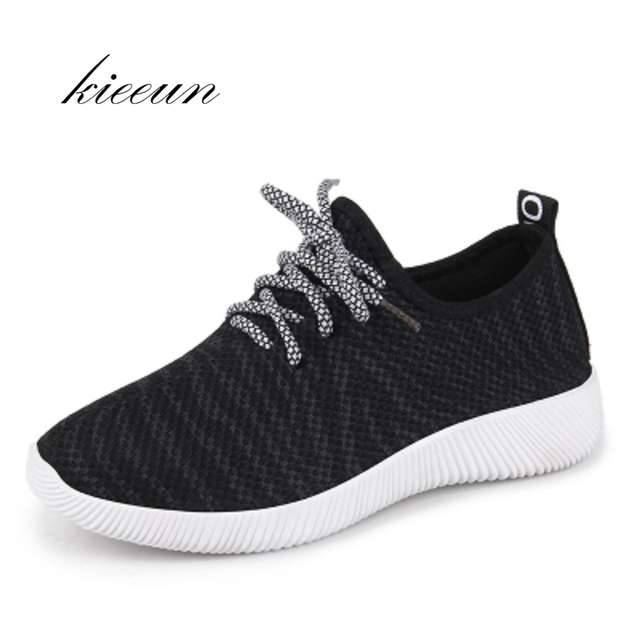 d0d24282bd5 Air Mesh Running Shoes For Women Sneakers Yeezy Jogging Athletic Shoes  Trainers Medium Breathable Cushioning Womens Sport Shoes