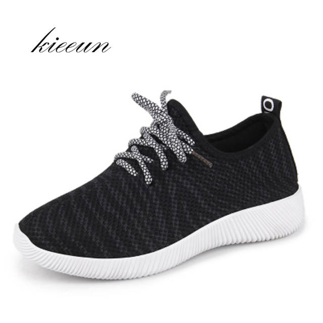 size 40 f6540 af5c6 US $29.6 |Air Mesh Running Shoes For Women Sneakers Yeezy Jogging Athletic  Shoes Trainers Medium Breathable Cushioning Womens Sport Shoes-in Running  ...