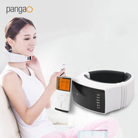 B7 Wireless Remote Control Neck Massager Cervical Magnetic Instrument Therapy Vibration Far Infrared Heating Massage Relief