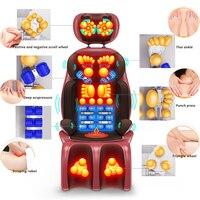 Electric Shiatsu Massage Chair Household Automatic Body Massager Cushion Kneading Neck Shoulder Scalp Back Gua sha Pain Relief
