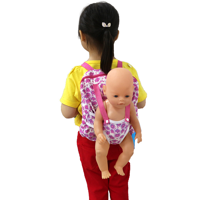 Outgoing Packets Outdoor Carrying Doll Backpack Suitable For Carrying 43cm   Doll And American Girl Doll