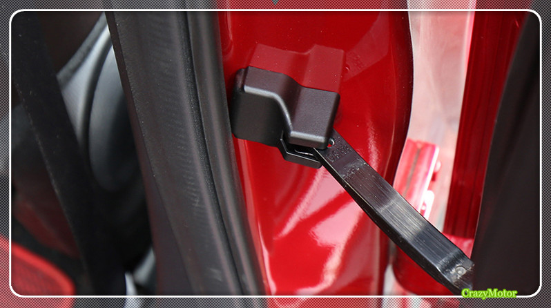 Car Superb Car Door Lock Door Check Arm 4pcs/set For MAZDA CX-9 2016 2017 2018 Car styling