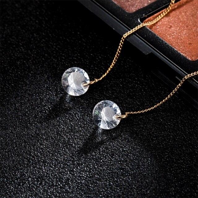 FAMSHIN Fashion Crystal Dangle Earrings For Women Wedding Punk Gold Color Long Tassel Dangle Bar Statement.jpg 640x640 - FAMSHIN Fashion Crystal Dangle Earrings For Women Wedding Punk Gold Color Long Tassel Dangle Bar Statement Jewelry