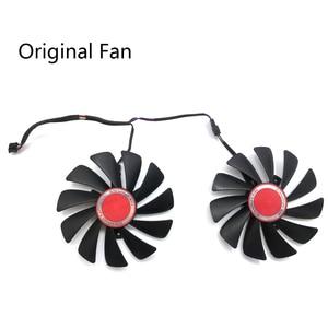 Image 5 - Original 95MM CF1010U12S DIY FDC10U12S9 C PC Cooler Fan Replace For XFX AMD Radeon RX580 RX590 GPU Graphics Card Cooling Fan
