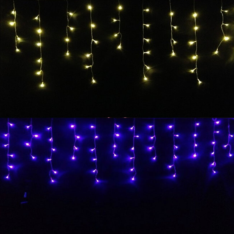 icicle string lights Picture - More Detailed Picture about Christmas Garland LED Curtain Icicle ...