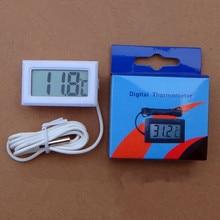 Внешнего внутреннего коробке розничной жк-цифровой регулятор температуры метр термометр качество кабель