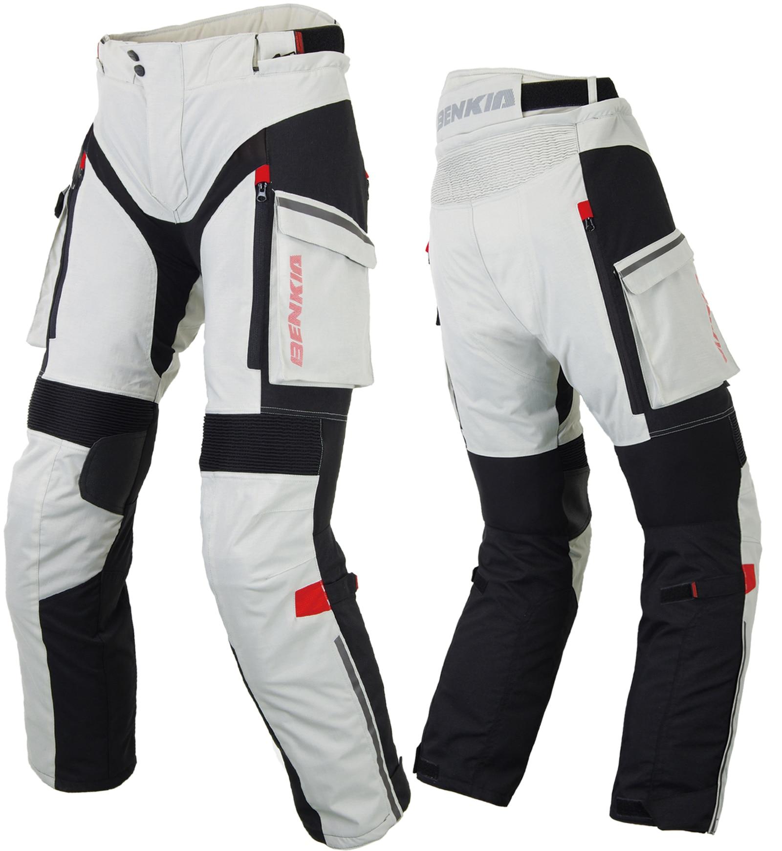 BENKIA Hommes Moto Racing Pantalon D'hiver Rallye Pantalon Avec Amovible Doublure Chaude Off Road Motocross Pantalon Pantalon Moto