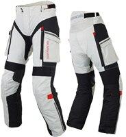 Benkia Для мужчин мотогонок брюки зима ралли брюки со съемной теплой подкладкой Off Road Мотокросс брюки Pantalon Moto