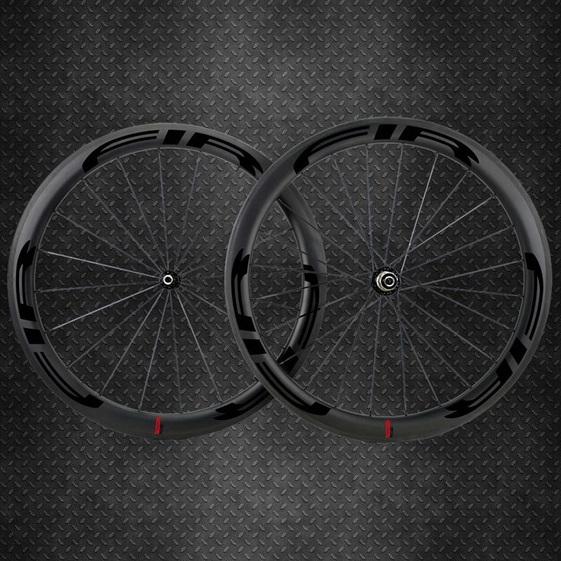 FIR Carbon Road Bike Wheel carbon Straight Pull Hub 25mm Wider Tubular Clincher 700c Wheelset carbon