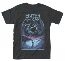 T Shirt Design Basic Top Comfort Soft O-Neck Enter Shikari 'Sky Break Short-Sleeve Mens Shirt enter shikari enter shikari live at alexandra palace 2 lp