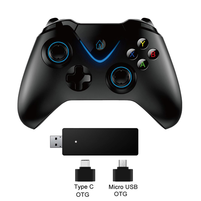 2.4G Wireless Controller Gamepad For Xbox One Control For PS3 For PC For Android phone For Xbox One S/X Console Joystick chunghopchunghop media remote control controller dvd entertainment multimedia for xbox one new