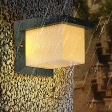 10W LED Wall Sconce Light Fixture Waterproof Lamp Outdoor Garden Lighting Balcony Walkway Door