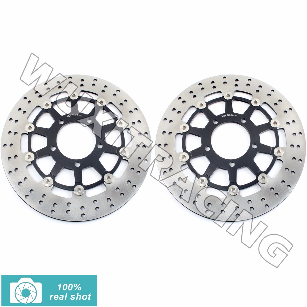 Front Brake Disc Rotor for KAWASAKI GTR 1400 /  ABS 07-2016 ZZR 1400 / ABS 06-15 ZG 1400 Concours 14 / ABS 08 09 10 11 12 13 14