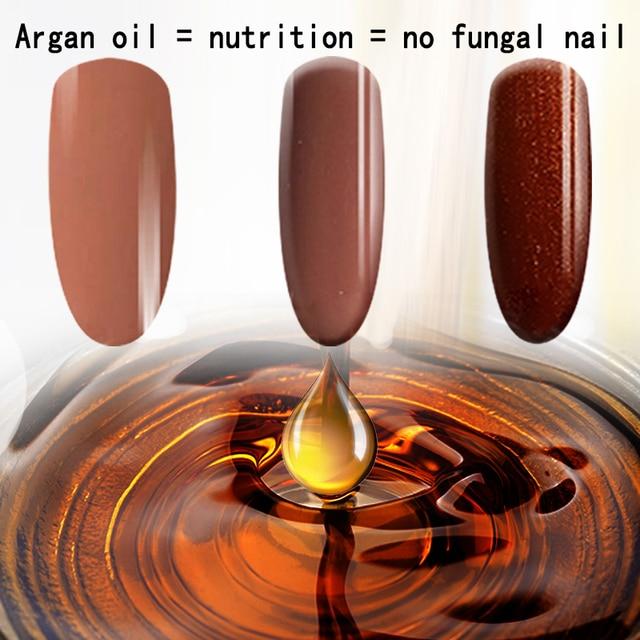 Morocco Argan Nutrition Color Gel Long-lasting Soak-off Gel Nail LED Led Shining Colorful UV Nail Gel Coat + UV Base Coat