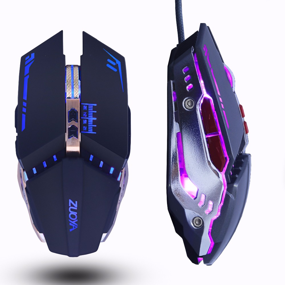 ZUOYA Profesional gamer Gaming Mouse 8D 3200 DPI Adjustable Optik - Periferal komputer - Foto 3