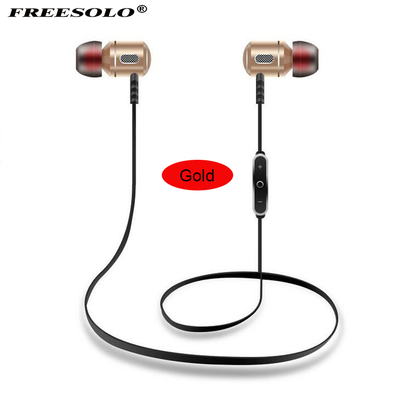 FREESOLO S8 Sports Running Bluetooth headphone Wireless Bluetooth earphone waterproof with mic for apple phone sumsung ...
