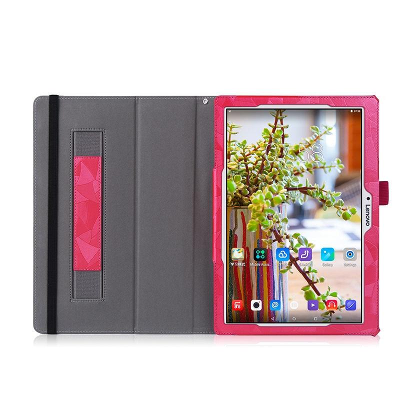Funda con tapa de cuero de alta calidad para Lenovo Tab 2 A10-30F - Accesorios para tablets - foto 6