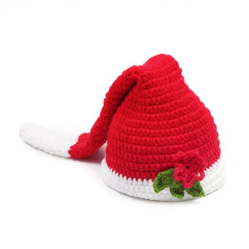 Baby Photo Props Christmas Baby Hats Newborn Photography Beanbag Crochet Outfits Fotografia Cocoon Baby photography Accessories