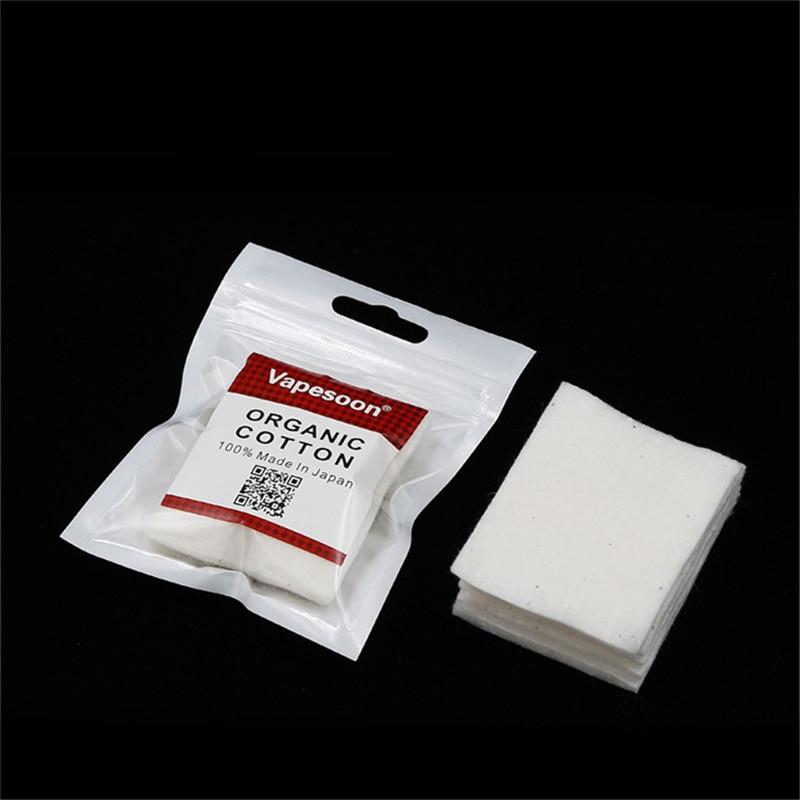 Оригинални вапесоон Органски јапански памук за е-цигарете ДИИ РДА РБА резервоар за гориво за топлотну жицу Органски памук