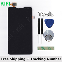 100 QC PASS LCD Display Touch Screen Digitizer Glass Panel For Prestigio MultiPhone 5044 Duo PAP5044Duo