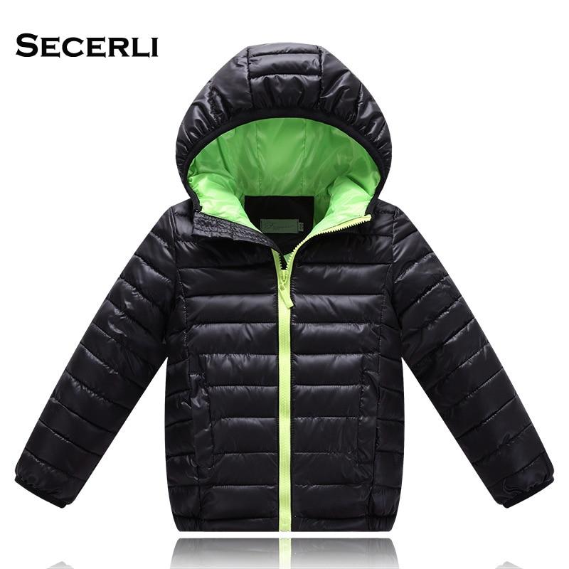 2017 Hot Sale Hooded Girls Boys Winter Coat Long Sleeve ...