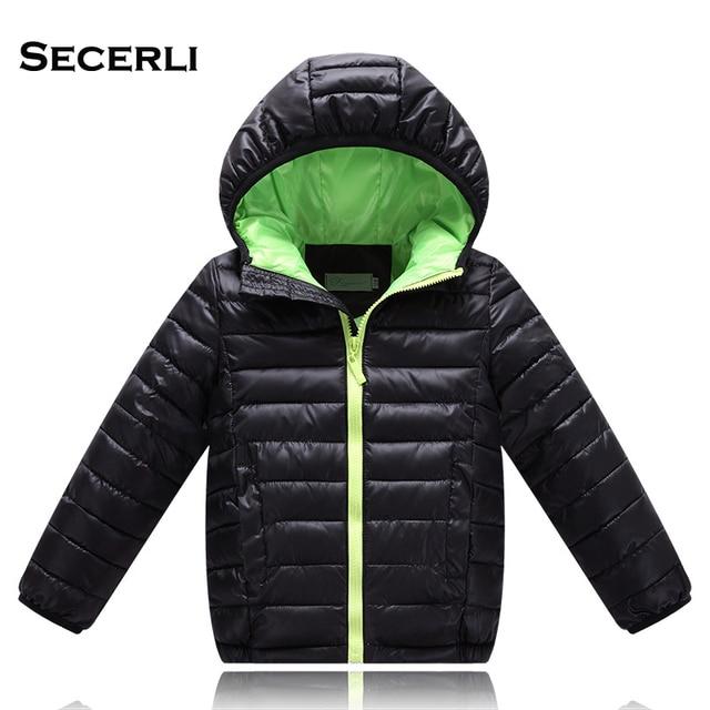 2017 Hot Sale Hooded Girls Boys Winter Coat Long Sleeve Boys Winter Jacket WindProof Children Kids Winter Jacket 4 to 12 Years