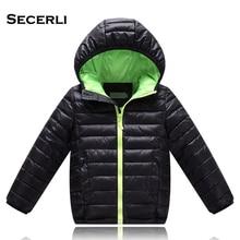 2018 Hot Sale Hooded Girls Boys Winter Coat Long Sleeve Boys Winter Jacket WindProof Children Kids