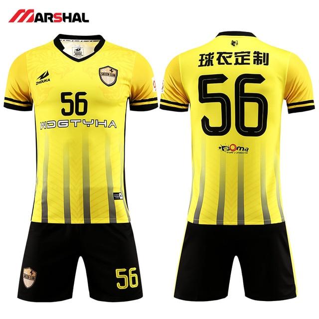 5fb0e35a0a1 2019 Popular design football team uniforms soccer shirt maker custom jerseys  for sale football shirt maker