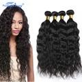 4 Unids/lote Onda Natural Peruana Virgin Hair Weave Silkylong 7A Sin Procesar Haces de Pelo Virginal Peruana Extensiones de Cabello Humano