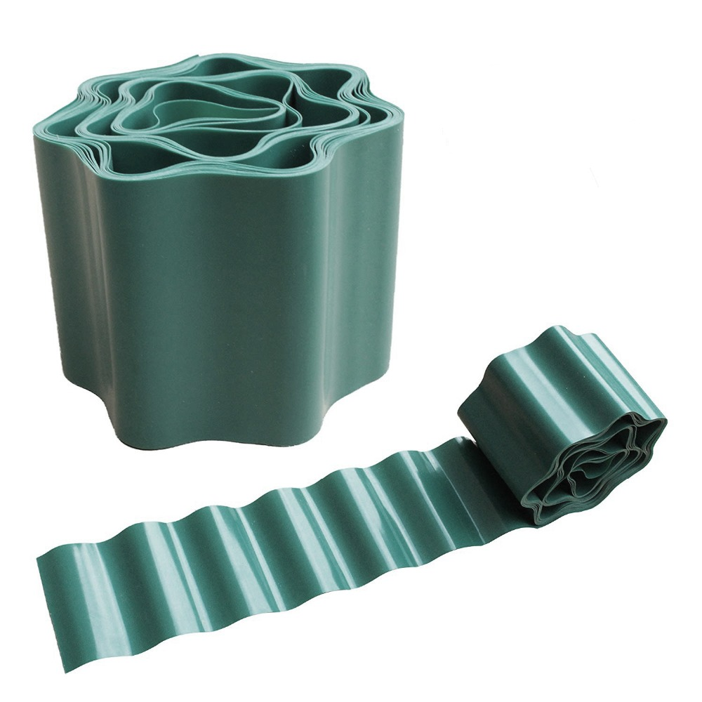 Gardening Green Flexible Plastic Garden Lawn Edging Border Edging For Lawns Flower Beds Protect Your Lawn
