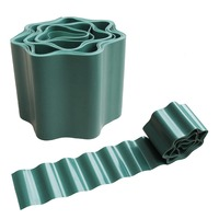 Gardening Green Flexible Plastic Garden Lawn Edging, Border Edging For Lawns, Flower Beds Protect Your Lawn From Erosion