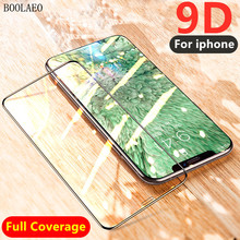 9D Full Cover protective glass for iPhone 6 6S 7 8 plus Tempered glass screen protector on iPhone X XS MAX XR screen protection