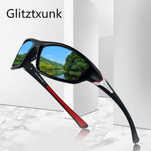 Glitztxunk New Polarized Sunglasses Men Women Brand Design Vintage Male Square Sports Sun Glasses For Driving Shades Eyewear