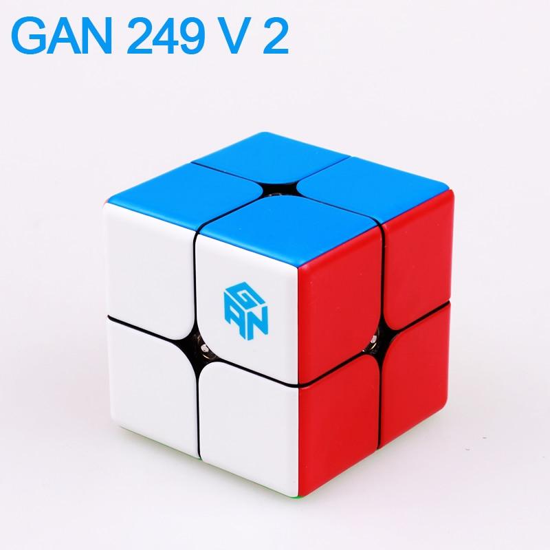 GAN249 V2 rompecabezas velocidad mágica cubo 2x2x2 profesional - Juegos y rompecabezas - foto 1