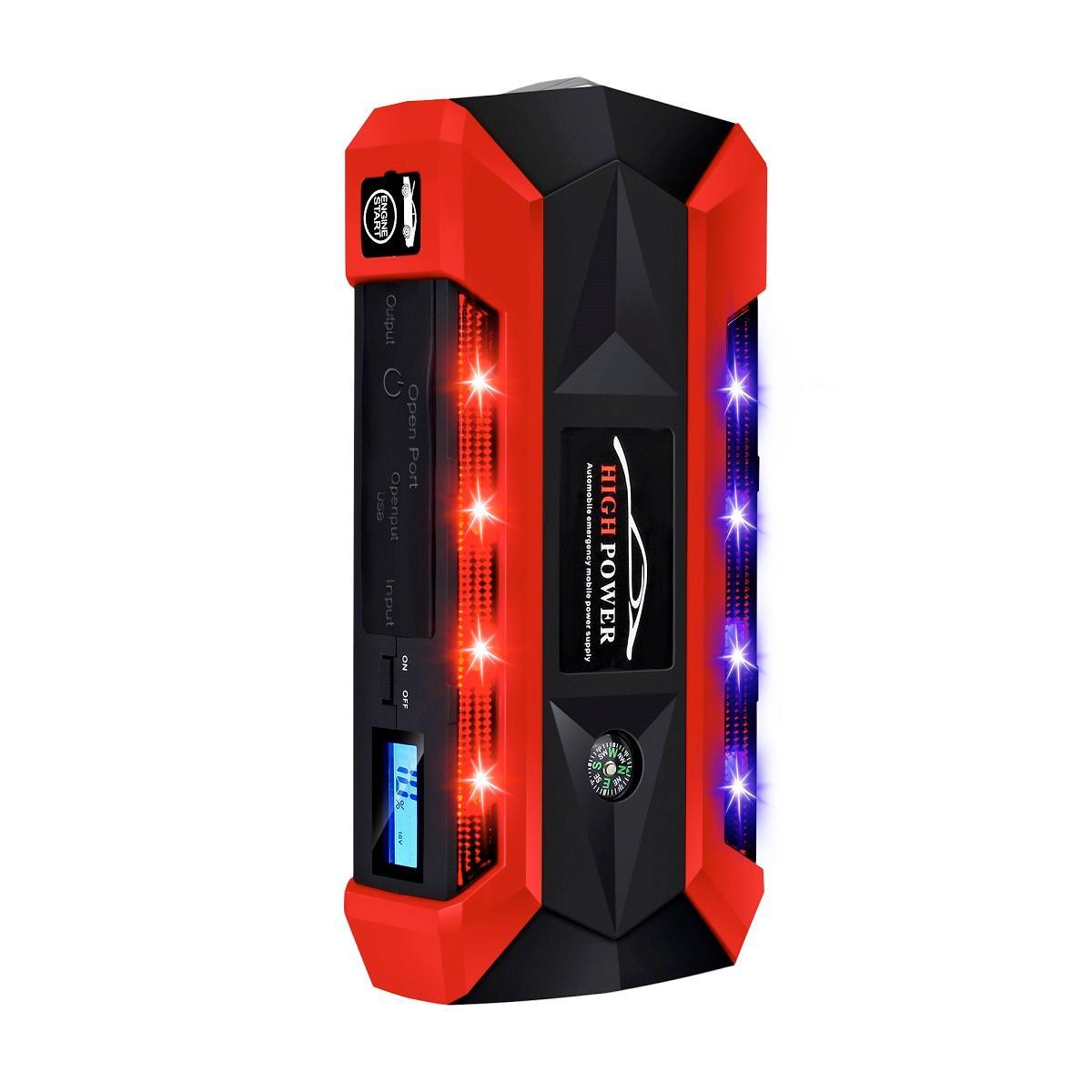 4usb power bank 12v dispositivo de partida