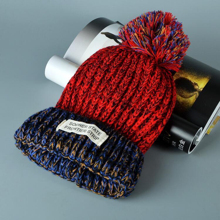 قبعة صوف دافئة نسائية 11