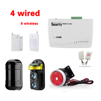 Home Front Wireless GSM Alarm System Wired Wall Protection Alarm Systems Security Home