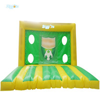 Inflatable football goal inflatable soccer goal soccer target game