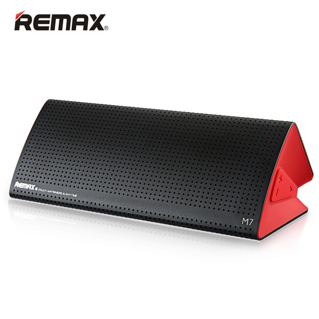 Remax Stylish RB - M7 Hi-Fi Bluetooth Speaker BT 4.1 AUX Line Volume Control Music Player Hands-free for MP3 Mobile Phone PC