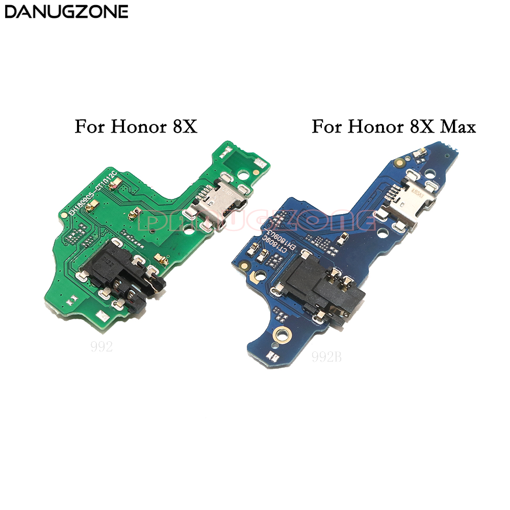 USB Charging Port Connector Charge Dock Socket Jack Plug Flex Cable For Huawei Honor 8X Max 8XMax