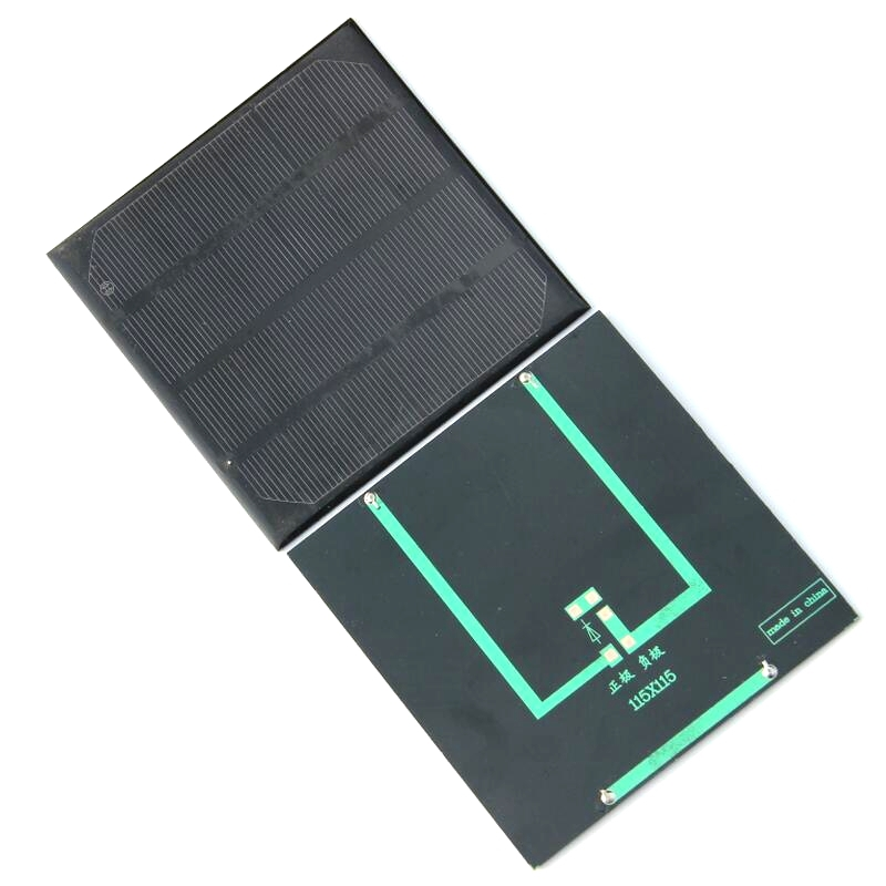 High Efficiency 2w 6v Solar Cell Monocrystaline Solar