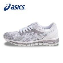 71502726d9 Originais ASICS GEL-QUANTUM 360 Mulheres MALHA Estabilidade Running Shoes  Calçados Esportivos Brancos Sapatos de