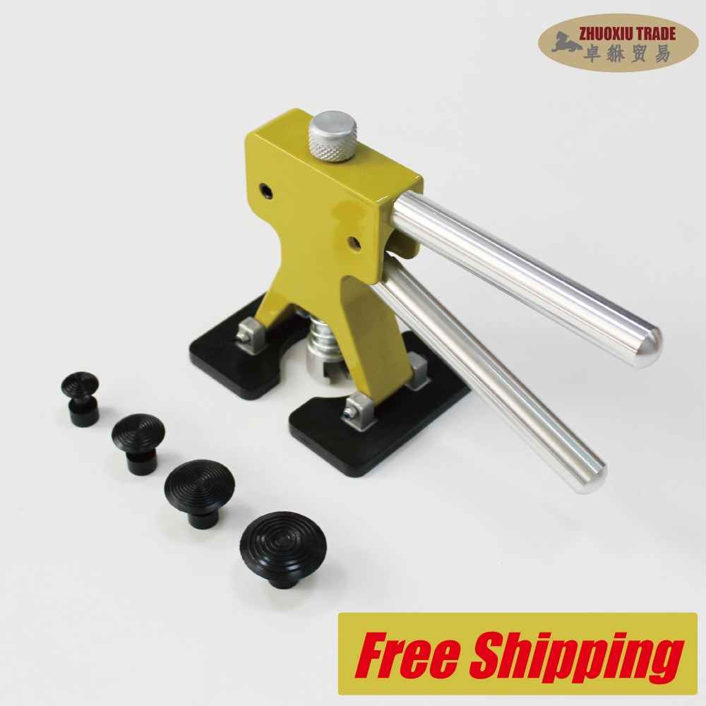 Squeeze puller metal sheet car body work tools pdr aluminum remove dents repair removal glue tabs garages workshop box auto cups ...