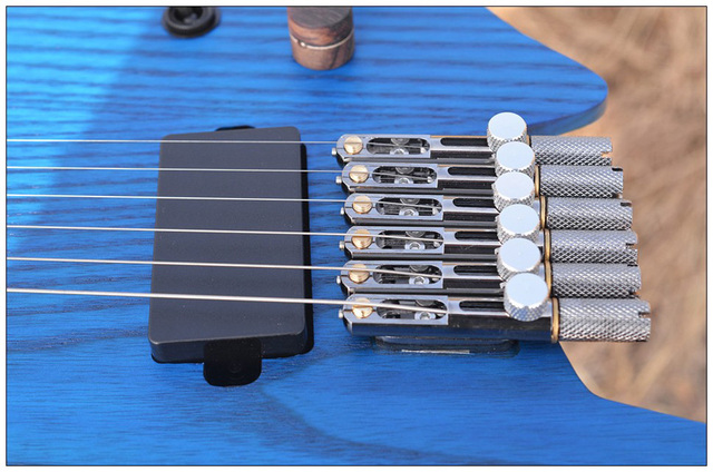 NK Headless guitar Fanned Fret guitars - free shipping 3