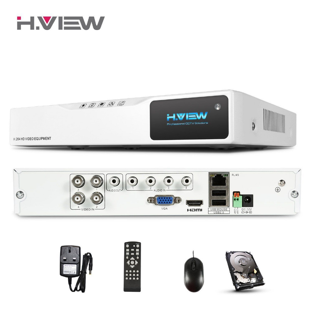 ФОТО Multifunctional 4CH 720P AHD-NH DVR Network HD NVR VGA HDMI Output Record 1MP IPCAM Surveillance Video Recorder With 1T DISK