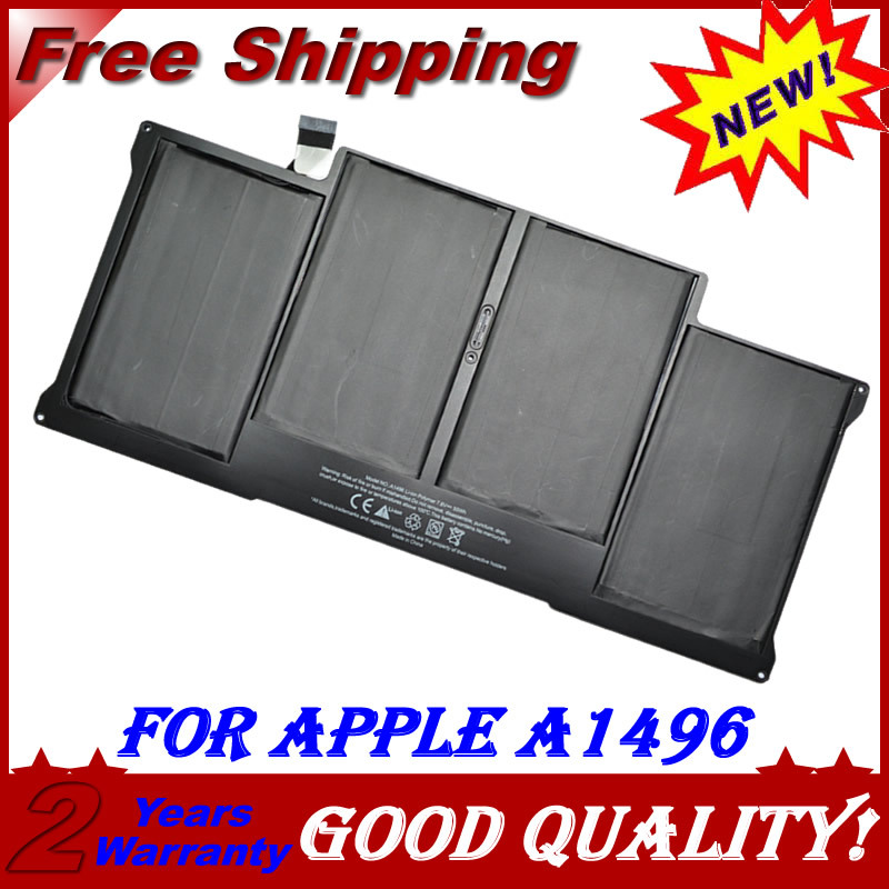 JIGU Brand new Genuine origianl A1496 battery for Apple Macbook pro 13 MC504 A1369 A1466 A1496 laptop jigu air 13 a1369 mc504 a1377 a1405 a1466 mc965 mc966 md231 md232 laptop battery