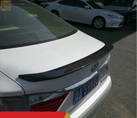 Para Lexus ES250 2013-2018 Asa Traseira Spoiler  Bota tronco Spoilers Asas De Fibra De Carbono
