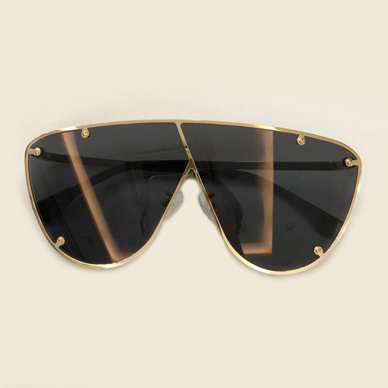 2019 Luxury Goggle Sunglasses Women Brand Designer Retro Shades Sun Glasses For Women Female Lady Rivet