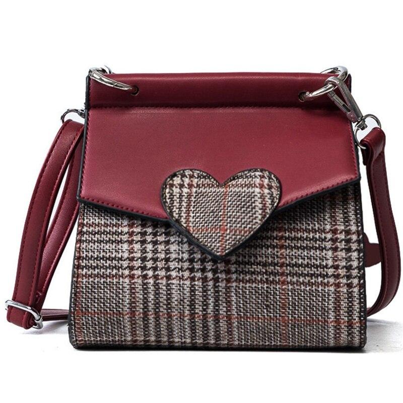 2018 designer brand bag ladies quality wool leather handbag dress solid shoulder bag mini bag lady messenger wallet and handbag